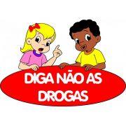 Painel Diga Não as Drogas E.V.A