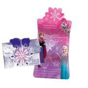 Convite de Aniversário  Frozen Uma Aventura Congelante c/ 8 unid.