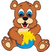 Mini Painel Urso E.V.A