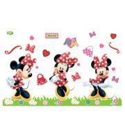 Kit Painel Impresso Minnie Mouse E.V.A c/ 37 peças.