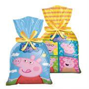 Sacola Surpresa Peppa Pig c/ 8 unid.