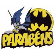Faixa Decorativa Parabéns Batman E.V.A
