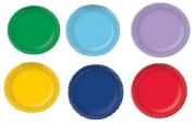 Prato de Papelão - Laminado - N 6 - Liso - Cores