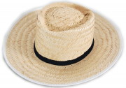 Chapéu de Palha Caipira Panamá Simples