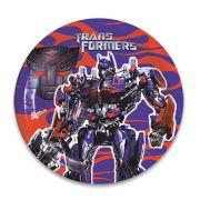 Prato Descartável Transformers c/ 8 unid.