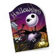 Convite Halloween c/ 8 unid