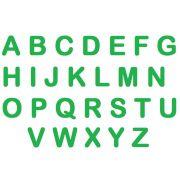 Letras em E.V.A - Verde Bandeira