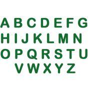 Letras em E.V.A - Verde Escuro