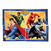 Kit Painel Cartonado Decorativo Liga da Justiça