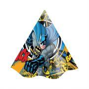 Chapéu de Aniversário Festa Batman c/ 8 unid.