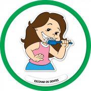 Painel Decorativo Escovar os Dentes
