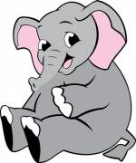 Mini Painel Elefante II E.V.A