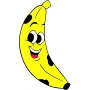 Mini Painel Banana E.V.A
