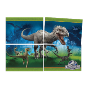 Painel 4 laminas Jurassic World