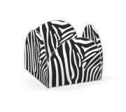 Porta Forminha Zebra c/ 50 uni.