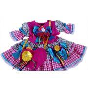 Vestido Bonequinha Bebê