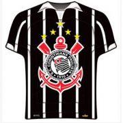 Prato Descartável Corinthians c/ 8 unid.