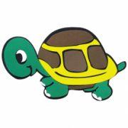 Painel Tartaruga Fêmea em E.V.A