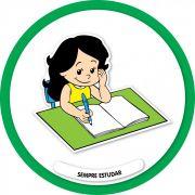 Placa Permitido Estudar