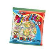 Pirulito Espiral Miguelito - Tutti Frutti 600g - Cores