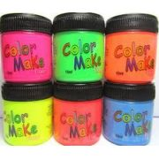 Tinta Facial Neon Color Make Fluor 15ml