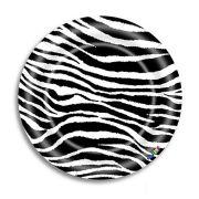 Prato Descartável - Estampado - Zebra - c/8 unid