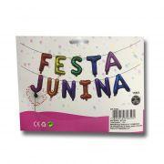 Balão Metalizado Festa Junina