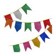 Bandeirola Junina  de Plástico c/ 10 m