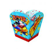 Cachepot Mickey Super Herói c/8