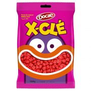 Chicle X-Clé Morango 500g