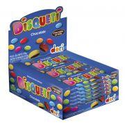Confete Disqueti Chocolate 720g com 18 unidades