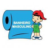 Painel Banheiro Masculino