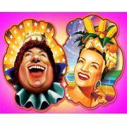 Painel Carnaval - Rei Momo e Carmem