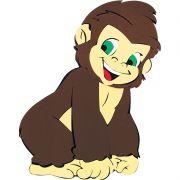 Painel Gorila Baby E.V.A