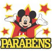 Painel Parabéns Mickey