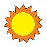 Painel Sol Grande em e.v.a.