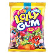 Pirulito Chicle Lolly Gum Sortidos 600g