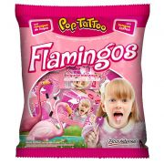 Pirulito Pop Tattoo Flamingos 400g