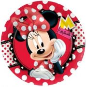 Prato Descartavel Minnie