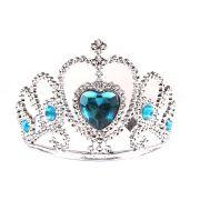 Tiara Coroa com Pedras Azuis