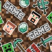 TNT  ESTAMPADO MINECRAFT