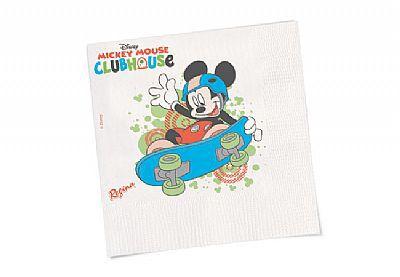 Guardanapo Mickey c/ 16 unid.