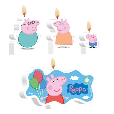 Vela de Aniversário Peppa Pig