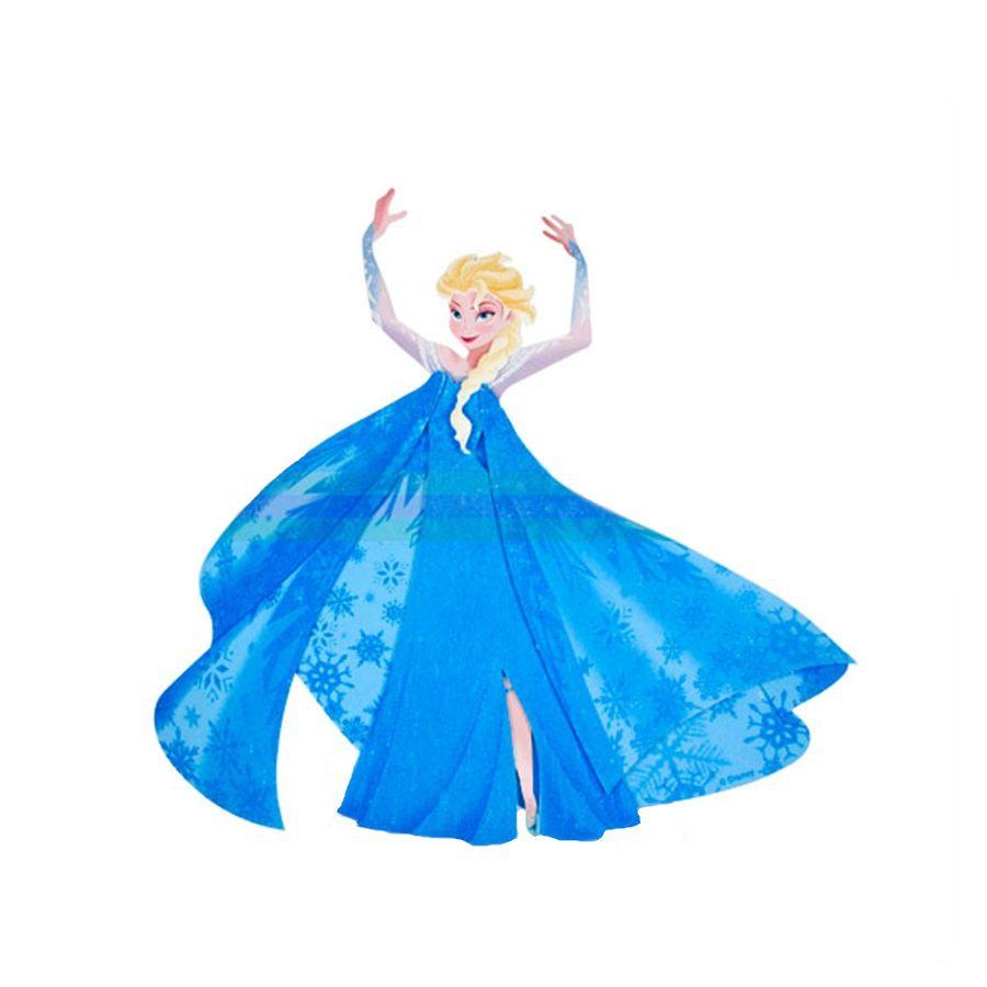 Mini Painel Elsa - Frozen E.V.A