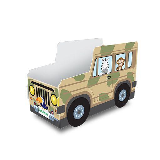 Cachepot Safari Jipinho Bem Vindo a Selva - 8 unidades