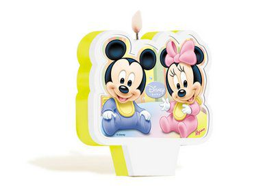 Vela de Aniversário Baby Disney