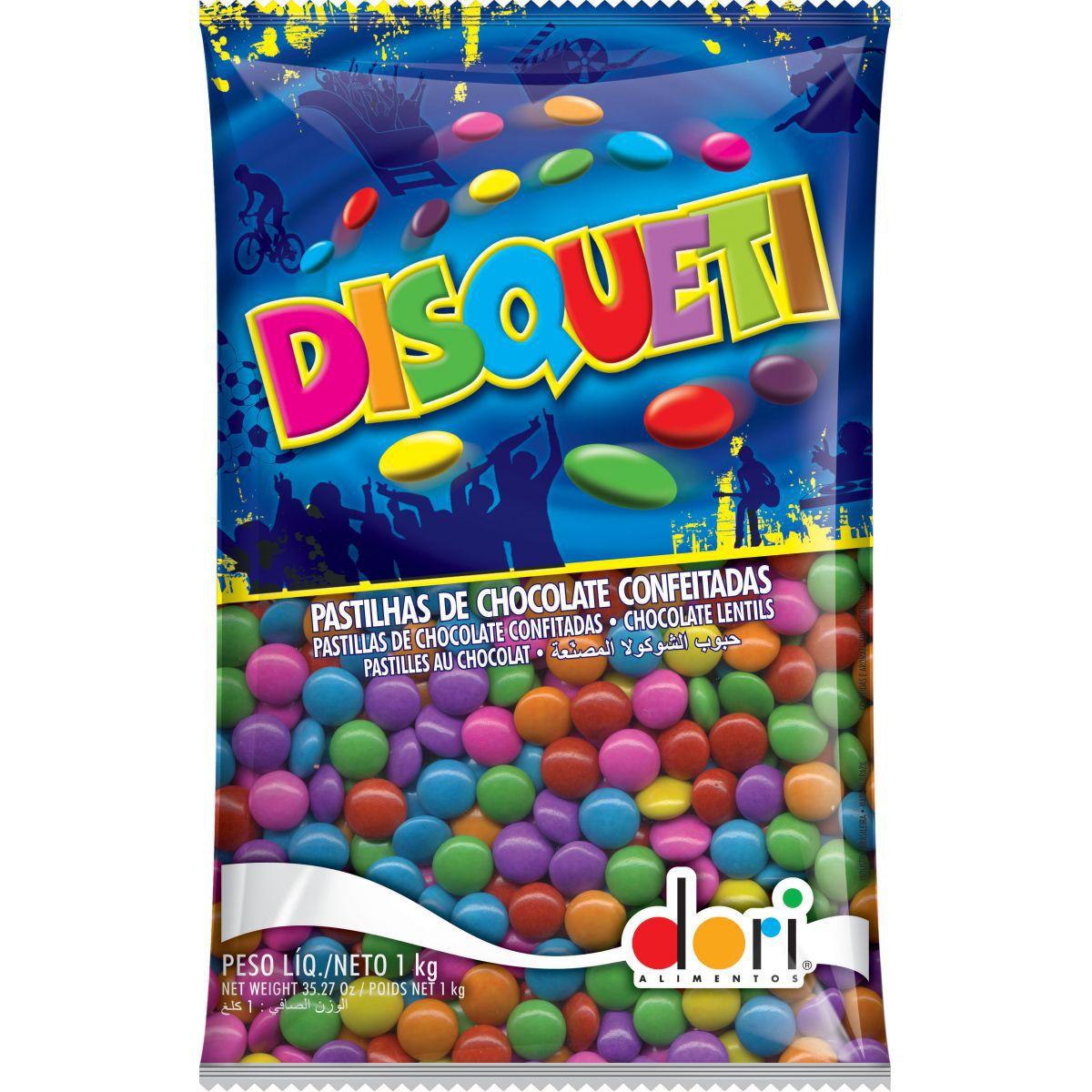 Confete Disqueti 1kg