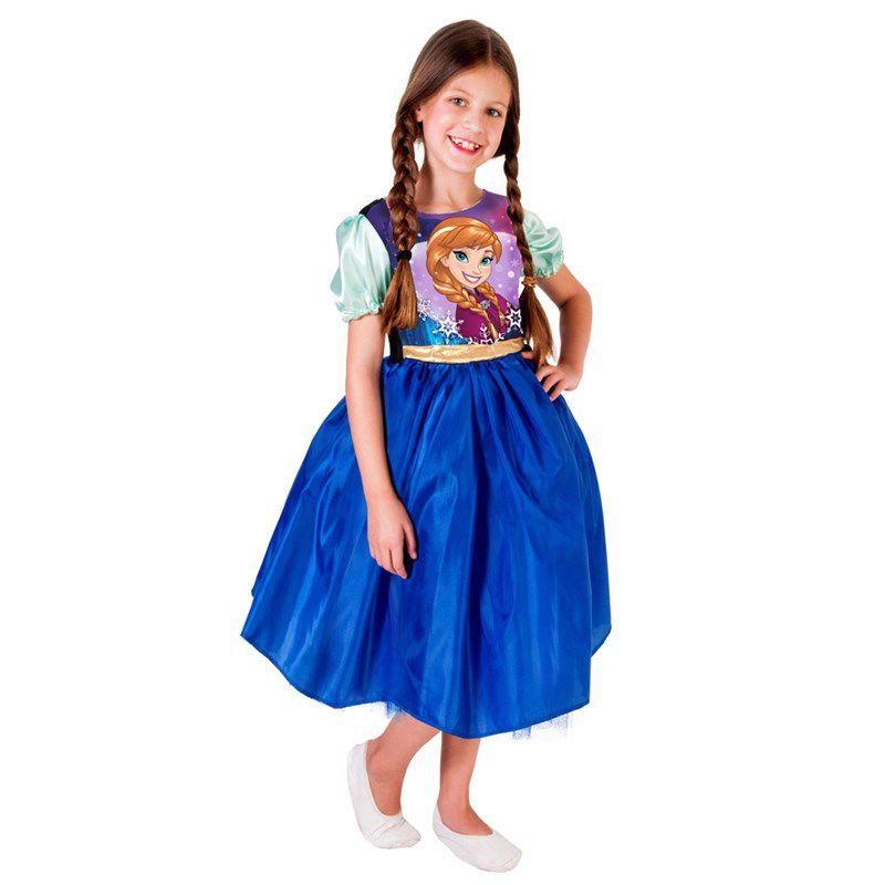 Fantasia Frozen - Princesa Anna - Standard - Infantil