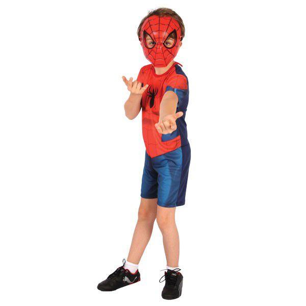 Fantasia Homem Aranha Curta - Infantil
