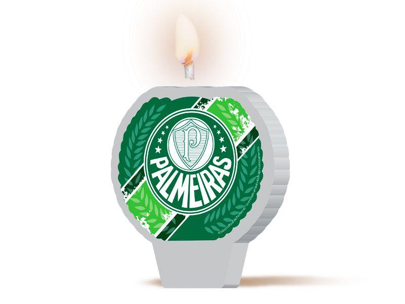 Vela de Aniversário Palmeiras